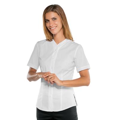 Chemisette blanche manches courtes pour Femme Stretch Confort - 025650M.jpg