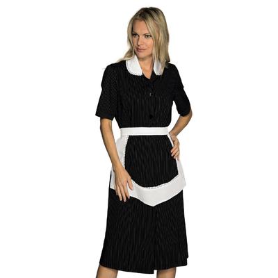 Blouse Femme De Chambre Manches Courtes et Tablier Noir et Blanc - 007351M.jpg