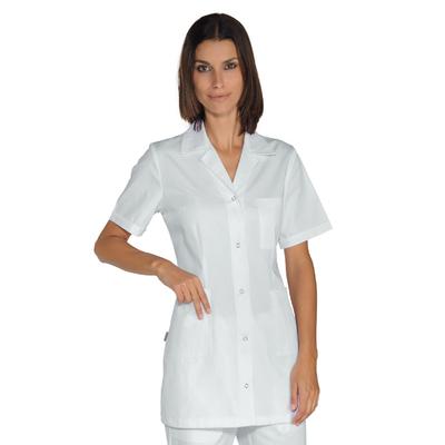 Tunique Médicale Blanche Femme Marbella 100% Coton - 031509M.jpg