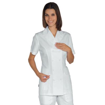 Tunique blanche Médicale à doubles Boutonnage - 008320M.jpg