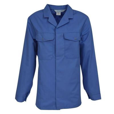 Tunique de travail bleu