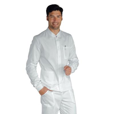 Blouse blanche médicale manches longues pour Homme - 055010P.jpg