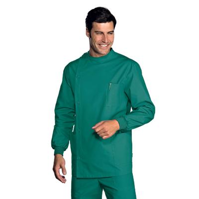 Tunique Dentiste Poignets Serrés Vert 100% Coton - 043200P.jpg