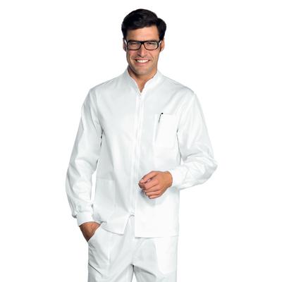 Tunique Médicale Samarcanda Poignets Serrés Blanc 100% Coton - 036300P.jpg