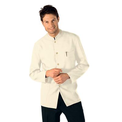 Veste De Service Col Mao Crème 100% Polyester - 066205X.jpg