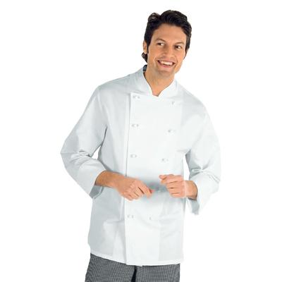 Veste Chef Cuisinier 5XL Livorno Blanc 100% Coton - 057000C.jpg
