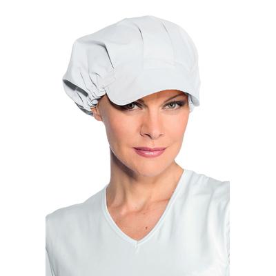 Casquette blanche de cuisine femme