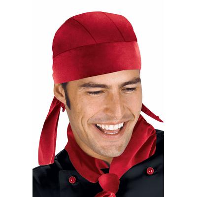 Toque Bandana Cuisine Rouge