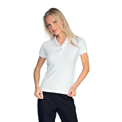 Polo Femme Stretch Blanc