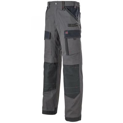 Pantalon de travail Homme gris et noir ruler / 1ATTUP2283