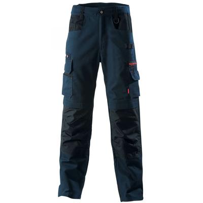 Pantalon de travail Work Attitude bleu marine et noir / 1ATNCP203