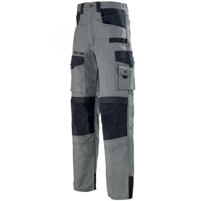 Pantalon de travail gris et noir Work Attitude 300 / 1ATHCP2279