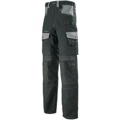 Pantalon de travail noir et gris / 1ATHCP896