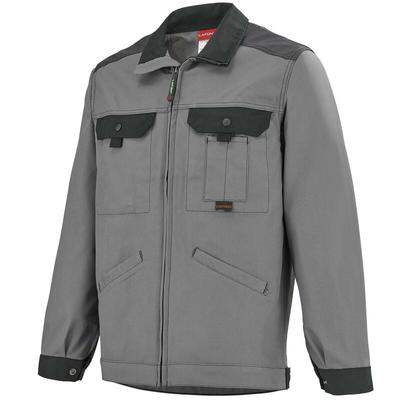 Veste de travail multipoches gris et noir Work Attitude A. Lafont / 3ATHCP2279