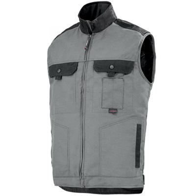 Body-warmer de travail Homme personnalisable gris et noir / 9ATHCP2279