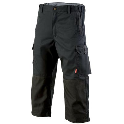 Pantacourt de travail Homme confort Stretch noir / 1STPCP110