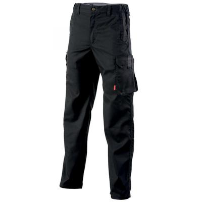 Pantalon de travail sans poches genoux noir / 1STSCP110