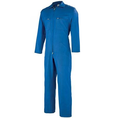 Cotte bleu de travail à bretelles pas chere / 6BASCO2