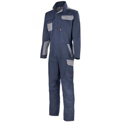 Combinaison de travail bleu marine / gris acier / 5COLCP805