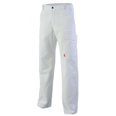 Pantalon de travail blanc azurite / 1MIECP8