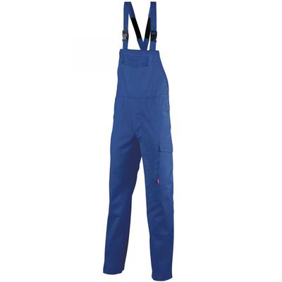 Salopette bleu de travail à bretelles attache automatique / 6MIECP2