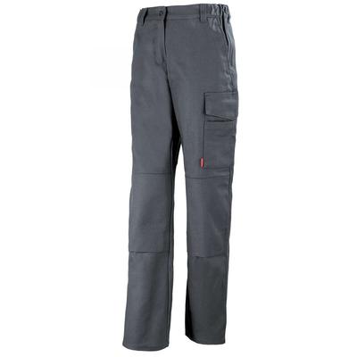 Pantalon de travail femme gris charbon pas cher / 1MIFCP67