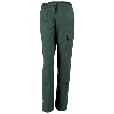 Pantalon de travail femme vert fonce Adolphe Lafont / 1MIFCP39