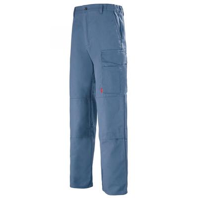 Pantalon de travail Multipoches bleu petrole basalte / 1MIMCP24