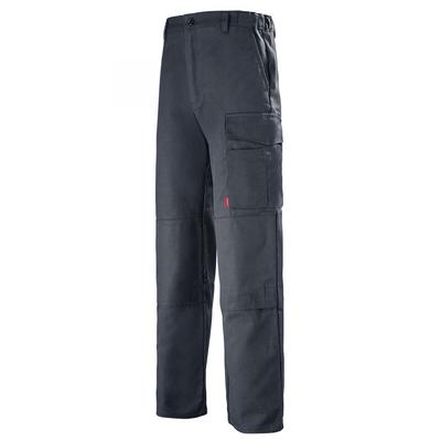 Pantalon de travail Multipoches gris charbon basalte / 1MIMCP67