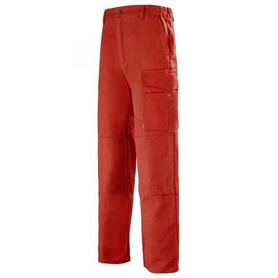 Pantalon de travail Multipoches rouge basalte / 1MIMCP11