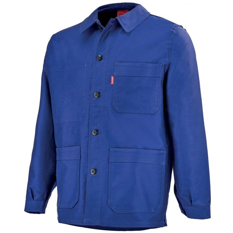 veste bleu de travail faurel a lafont vestes et. Black Bedroom Furniture Sets. Home Design Ideas