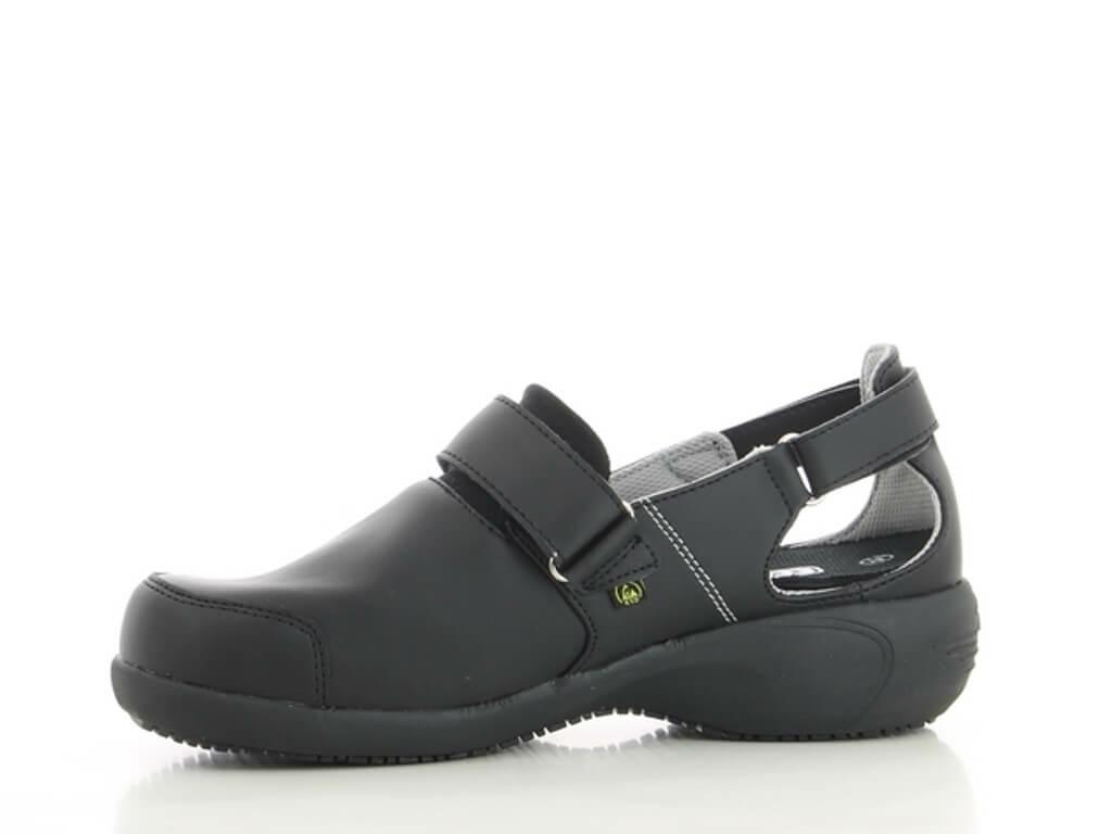 Chaussures noires de travail Salma ultraconfortable YaKgpxVD