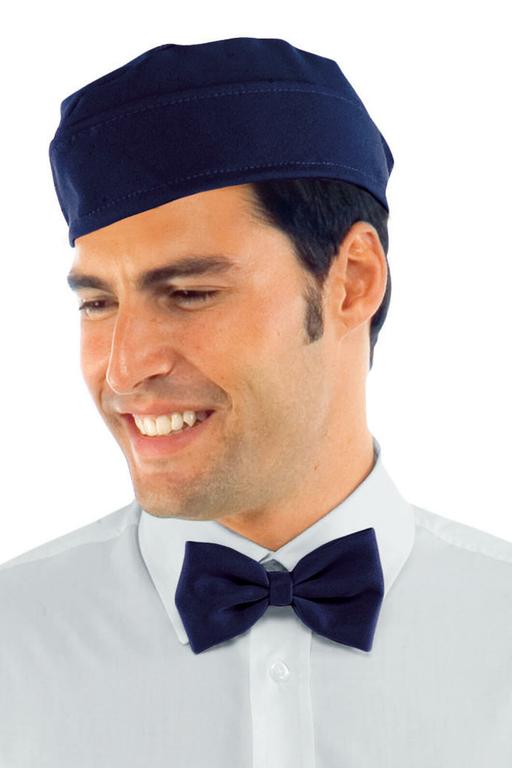 Calot de cuisinier bleu coiffe beret de cuisine v for Cuisinier 78