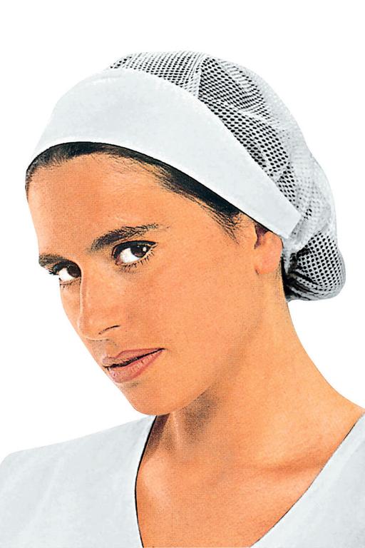 Charlotte De De Cuisine Femme Avec Filet Chapeaux De Cuisine
