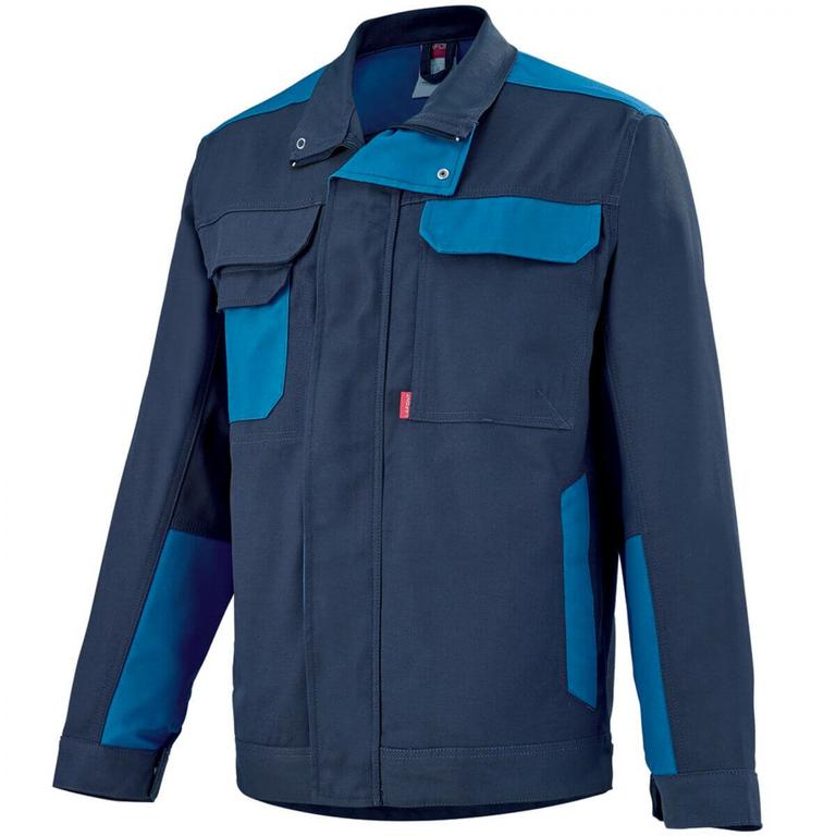blouson de travail homme bleu marine bleu azur grenat vestes et blousons de travail. Black Bedroom Furniture Sets. Home Design Ideas