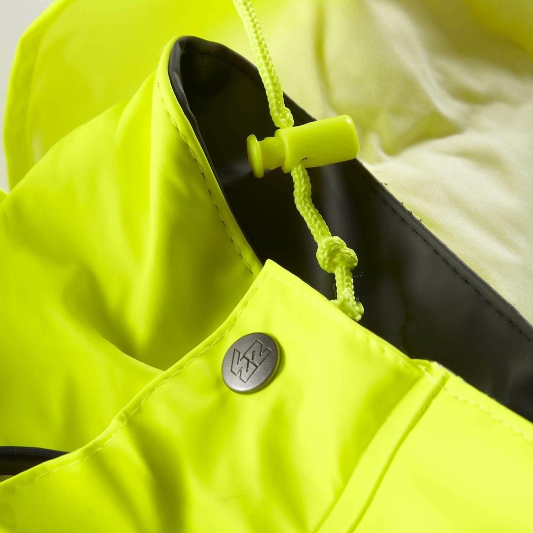 veste de pluie haute visibilit jaune fluo north ways pas cher. Black Bedroom Furniture Sets. Home Design Ideas