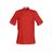 voir veste cuisine rouge manches courtes élégante