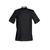 Achetez veste cuisine noire à manches courtes