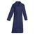 trouver blouse médicale bleu marine manches longues pour femme