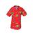 voir tunique pédiatrie avec motifs rouge