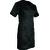 acheter blouse de travail noir manches courtes avec poches