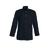 acheter tunique élégante médecin manches longues ajustables coloris noir