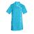 tunique esthétique manches courtes bleu turquoise pas cher