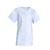 tunique infirmière boutons pressions manches courtes coloris blanc