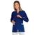 blouse de travail femme couleur bleu
