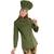 veste de cuisine Femme Vert Olive