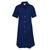 blouse bleue de travail femme