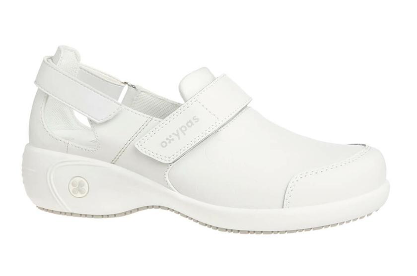 Chaussures blanche de travail Salma ultraconfortable Ae6lYeYJJ