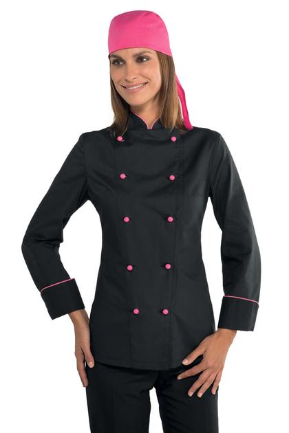 Veste cuisine femme tissu ultra leger vestes de cuisine - Veste cuisine homme personnalise ...