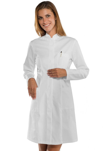 blouse blanche m dicale femme col officier blouse de chimie. Black Bedroom Furniture Sets. Home Design Ideas